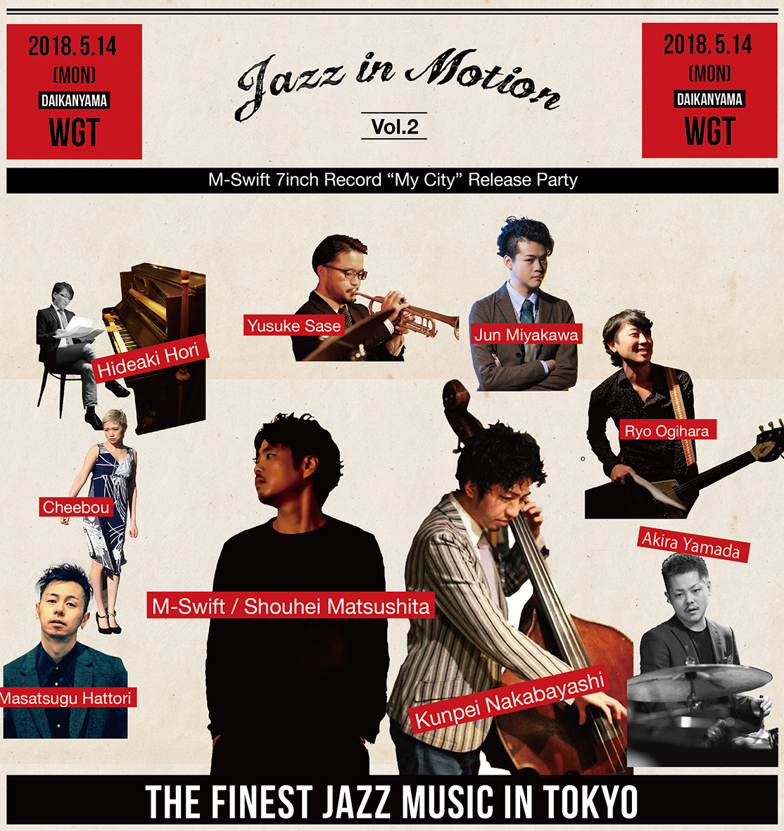 Jazz in Motion OMOTE 出演者